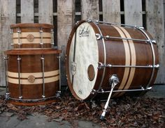 Beautiful custom drums from Anchor Drums http://anchordrums.com/