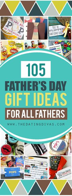 Father's Day gift ideas - quick and easy, DIY, and last minute gifts! www.TheDatingDivas.com
