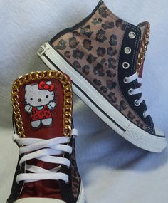 Hey, I found this really awesome Etsy listing at https://www.etsy.com/listing/172290659/hello-kitty-leopard-black-or-red