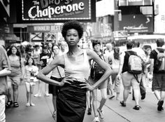 I love NY! shot in Times Square circa 2008 by Drexina model Hollis