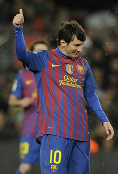 234. With his hat-trick against Granada, Leo Messi, Il più grande, became Barça's top ever goalscorer at 24 years old.