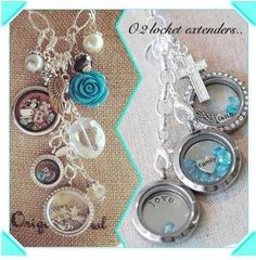 Origami Owl Locket Extenders are a fabulous way  to switch up your dangles, lockets, and tags  for any occasion!  Lorri Smith (702) 809-8194 Designer #9585 createyourtreasure.origamiowl.com