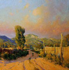 "Michael J. Lynch   ""Afternoon Shadows, NM"""