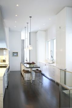 Ceiling-height kitchen elements - Modern Pacific Heights Kitchen, San Francisco, Butler Armsden Architects | Remodelista Architect / Designer Directory