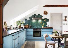 Värikkäät keittiöt