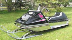 Vintage Sled, Vintage Racing, Snow Machine, Snowmobiles, Rockets, Arctic, Baby Strollers, Cats, Classic
