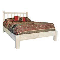 www.thelogfurniturestore.com log-beds-log-beds-timber-sawn-platform-bed-p-8691.html