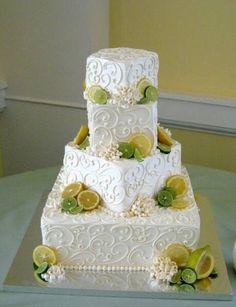 Wedding cakes — Square Wedding Cakes