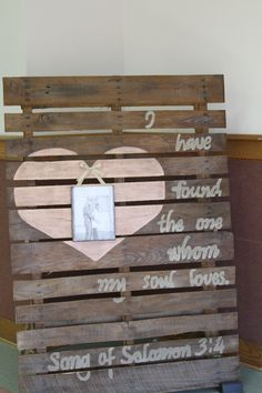 rustic wedding shower backdrop, old pallets, Annie Sloan chalk paint Tiffany Wedding, Baby Wedding, Our Wedding, Wedding Parties, Wedding Ideas, Rustic Wedding Showers, Bridal Shower Rustic, Best Friend Wedding, Sister Wedding