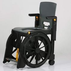 Folding commode chair that can travel with you. WheelAble is ...