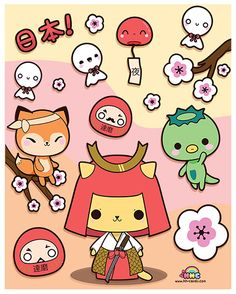 Kawaii Japan by A-Little-Kitty.deviantart.com on @deviantART