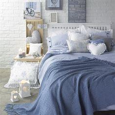 """Dormitorios de inspiración """"Riviera rústica"""""""
