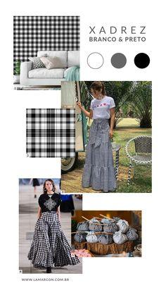 Looks Diferentes para Festa Junina Two Piece Skirt Set, Skirts, Dresses, Fashion, White Plaid, Party, Vestidos, Moda, Skirt