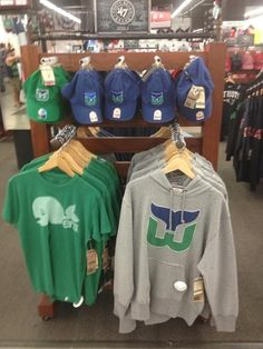 Whalers gear at Red Sox store Sock Store 0f565773e
