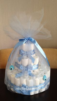 Baby Shower Crafts, Baby Crafts, Baby Shower Parties, Baby Shower Themes, Baby Shower Decorations, Baby Gift Hampers, Baby Hamper, Baby Shower Baskets, Baby Shower Diapers