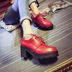 Buy 'Pixie Pair – Lace-Up Platform Heeled Ankle Boots' with Free International Shipping at YesStyle.com. Browse and shop for thousands of Asian fashion items from China and more!