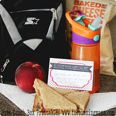 {Back to School} Cutest Lunch Box Notes ever. From @Kimber Matherne