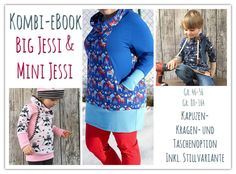 JESSI (in Mommy and Me) Big Jessi (Gr. 46-56) Mini Jessi (Gr. 80-164)