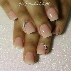 25 Top Best Wedding Rhinestone Nail Art Ideas that are perfect for your big day