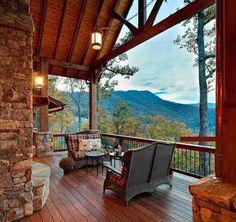 Wooden deck... love it!