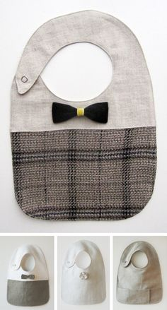 Stylish linen bibs in Accessories for bath, bedding, feeding and travel for babies and kids