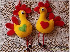 Ostatnio moje poczynania rękodzielnicze zdominowały nadchodzące Święta Wielkanocne. Dziergam więc na szydełku i drutach zające i kurczaki, ...