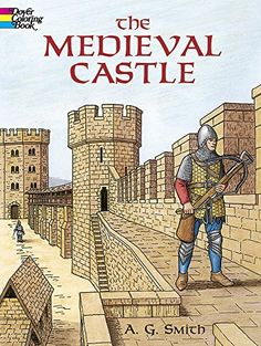 The Medieval Castle (Dover History Coloring Book) by A. G. Smith http://www.amazon.com/dp/0486420809/ref=cm_sw_r_pi_dp_othCvb1HK3XS2