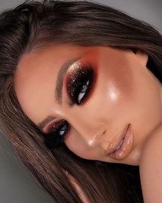 Makeup Eye Looks, Beautiful Eye Makeup, Creative Makeup Looks, Pretty Makeup, Love Makeup, Makeup Case, Makeup Kit, Makeup Products, Girls Makeup