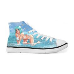 235ddc780129 Master Roshi Sexy Bikini Girl Beach Sneakers Converse Shoes. Saiyan Stuff