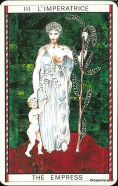 III. The Empress - Tarocco Mitologico by Amerigo Folchi