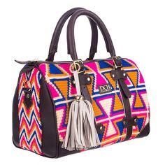 Colorful Wayuu bag by DCH DIVINA CASTIDAD HANDBAGS www.divinacastidadhandbags.com