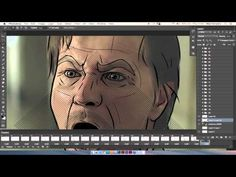 How to rotoscope in adobe photoshop and after effects how to draw. Photoshop Video, Photoshop Effects, Photoshop Tutorial, Adobe Photoshop, Video Editing, Principles Of Animation, Key Frame, Animation Tutorial, Color Pencil Art