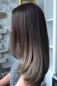 Hair Tips: 99 Modern Short Ombre Hair Color Ideas. Medium Hair Cuts, Medium Hair Styles, Curly Hair Styles, Natural Hair Styles, Medium Curly, Brown Ombre Hair Medium, Medium Brown, Ombre Sombre, Brown Hair Balayage