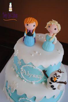 Frozen's Anna, Elsa & Olaf