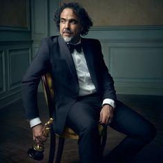 Alejandro González Iñárritu - Inside Mark Seliger's 2016 Oscar Party Portrait Studio