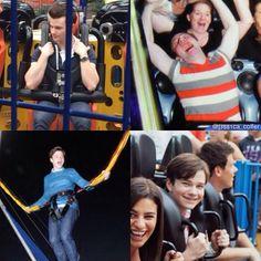 Chris  on rides :D