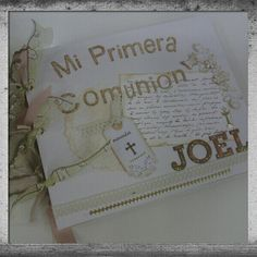 Libro de firmas MI PRIMERA COMUNIÓN