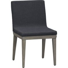 dos chair.  $199. All grey; grey-stained beech wood legs.  Comfy for wider people.