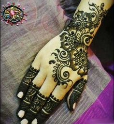 Henna - is a form of art on the body. Certainly beautiful and yet temporary.