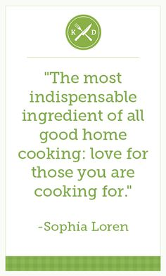 There's nothing quite like cooking for family and friends! #TasteTheLove
