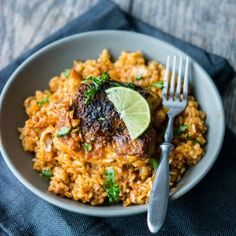 Is there anything better than coming home to a delicious slow cooked one-pot meal after a long day? Try this Southwest Chicken and Rice!