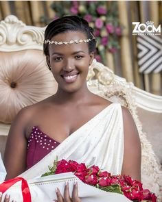 Gorgeous Bride ✨ In her Captured by . Wedding Bride, Our Wedding, Wedding Ideas, Traditional Wedding Dresses, African Wear, Beautiful Black Women, Dress Codes, One Shoulder Wedding Dress, Marie