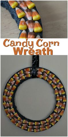 Candy Corn Wreath |