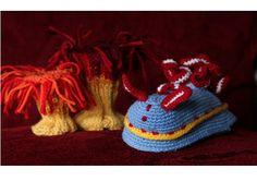 Crocheted Nudibranch - Toni Hartill Art