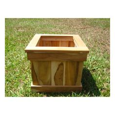 You'll love the Square Planter Box at Wayfair - Great Deals on all  products with Free Shipping on most stuff, even the big stuff.