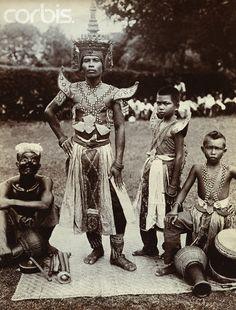 Thai Performers ca. 1910