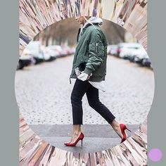 That heel tho 👠 @thestyleograph #sf in #ootd #love #look #outfitgrid #outfit #lookbook #style #inspiration #instagood #fashion #fashionblogger #whattowear #thingsorganizedneatly #outfitgrid #shopping #heels #bomberjacket #friday #tgif #friyay