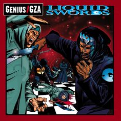 Wu-Tang had alot of dope album covers but this is one of my favorites due to the artwork.