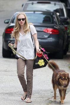 Bethenny Frankel with her lovable #dog #celebrities   http://www.petrashop.com/