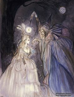 Enchanting Imagery - Cinderella being transformed by her Fairy...
